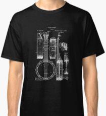 Banjo Patent T Shirt 1882 Classic T-Shirt
