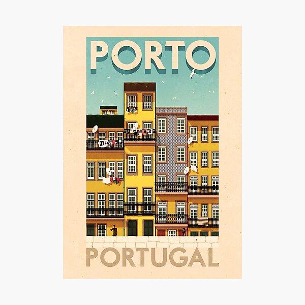 Travel Posters - Porto Portugal Photographic Print