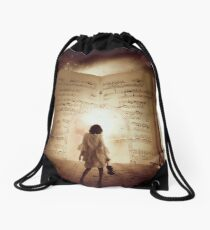Music Portal Drawstring Bag