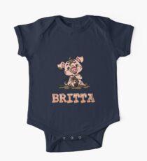 Britta Piggy One Piece - Short Sleeve