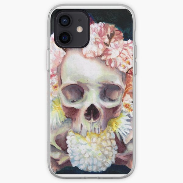 Flowers for Skulls iPhone Soft Case