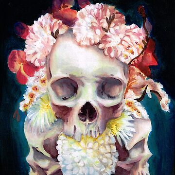 Flowers for Skulls by Ihazart
