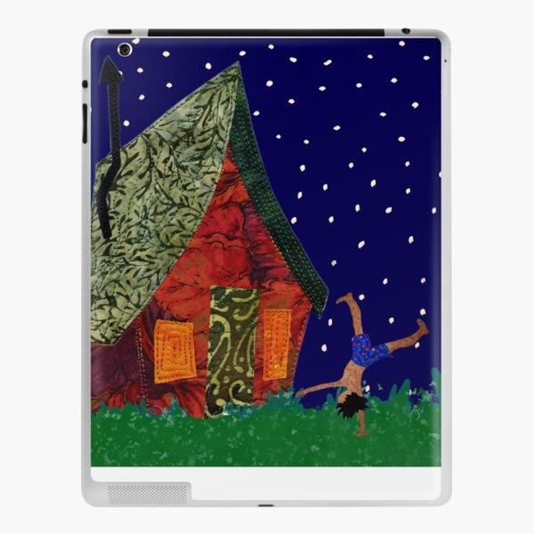 Cartwheels on a starry night iPad Skin