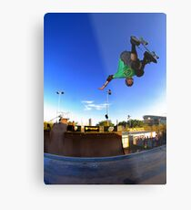 Tony Hawk - Monster Skate Park Metal Print