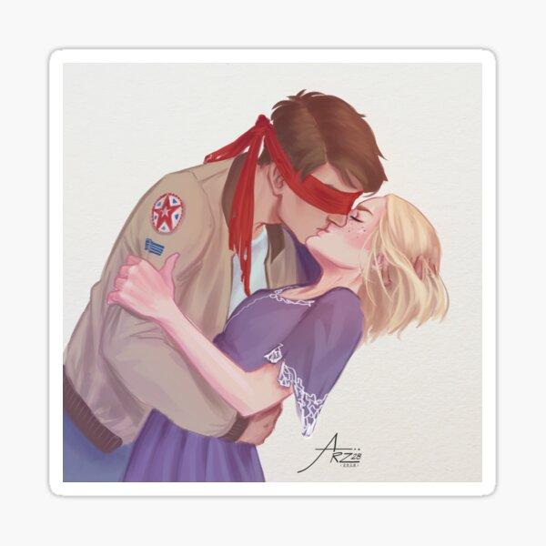 Cresswell kiss Sticker