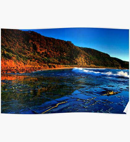 """""""Reflections at Cathedral Rock"""" Poster"""