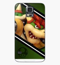 Funda/vinilo para Samsung Galaxy Caja del teléfono Bowser-Smash 4