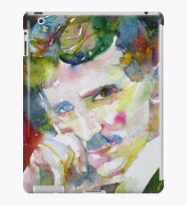 NIKOLA TESLA - watercolor portrait.9 iPad Case/Skin