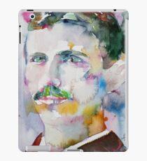 NIKOLA TESLA - watercolor portrait.11 iPad Case/Skin