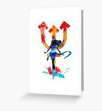 neptune splash Greeting Card