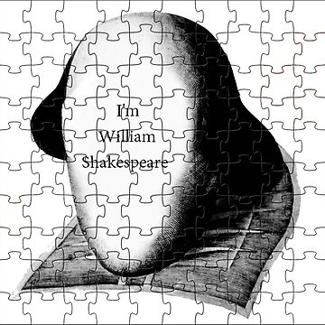 puzzle William Shakespeare (png) by RMBlanik