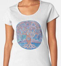 Mandala- tree of life Women's Premium T-Shirt