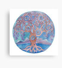 Mandala- tree of life Metal Print
