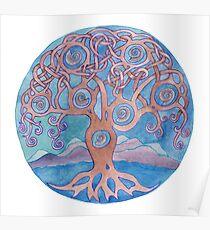 Mandala- tree of life Poster