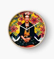 Frida Tropisch Uhr