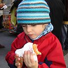 Mmmm! Street Vendor Hot Dog Delight by clizzio