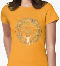 space dj Women's Fitted T-Shirt
