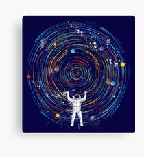 space dj Canvas Print