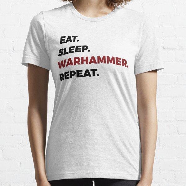 Mangez Sleep Warhammer Répétez T-shirt essentiel