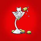 Olive Martini Westies by KiniArt
