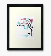 sakura delicious Framed Print