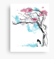 sakura delicious Canvas Print