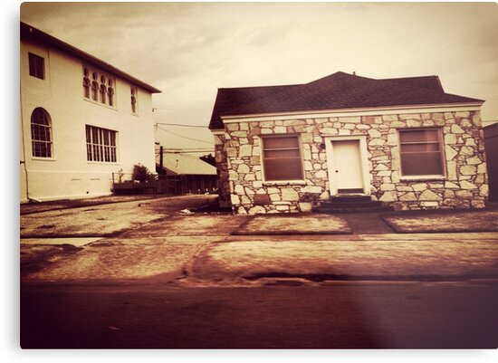 Old rock house on Route66 by Shelli Fitzpatrick