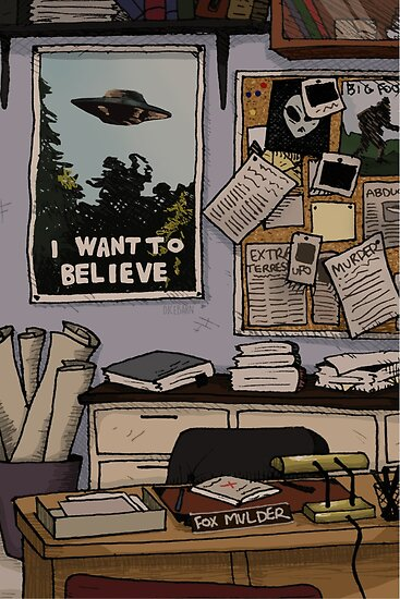 Mulder's Office by DiceBarn