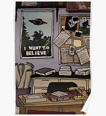 Mulder's Office Poster