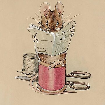 The Tailor Mouse, Beatrix Potter, Frontispiece. by TOMSREDBUBBLE