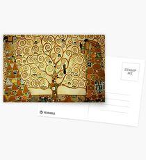 Gustav Klimt The Tree of Life Postcards