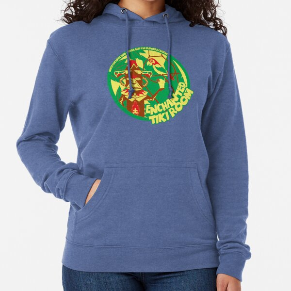 The Enchanted Tiki Room (green, red, yellow) Lightweight Hoodie