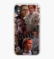 Patrick Bateman American Psycho Collage iPhone Case