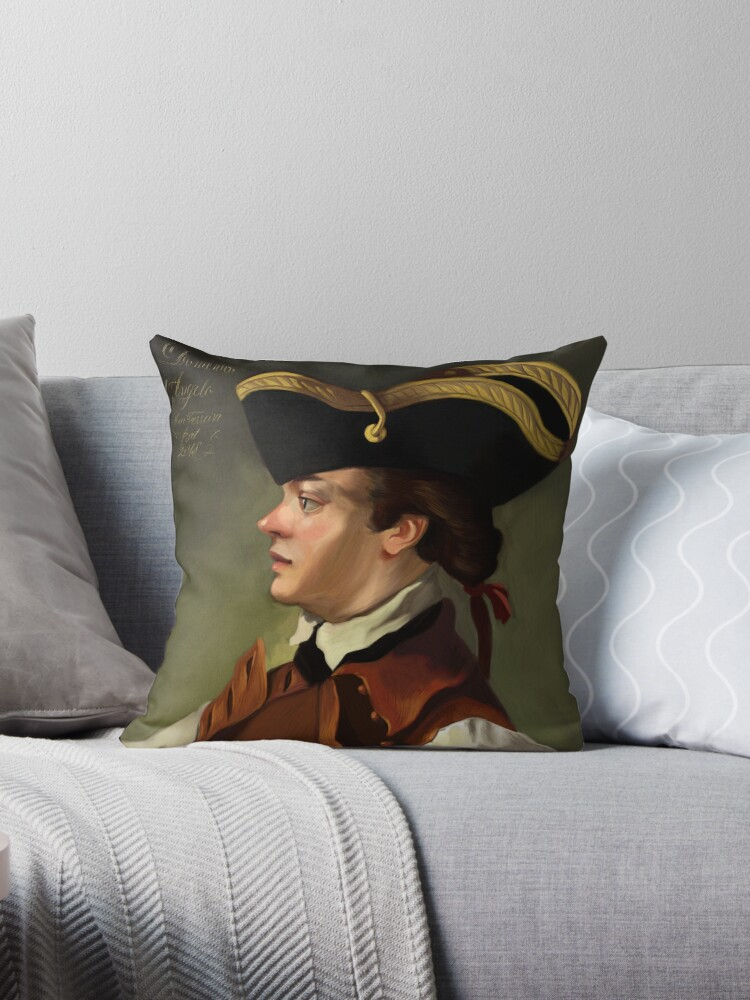 Domenico Angelo Throw Pillow By Ruiferreira Redbubble