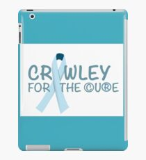 Crawley for the Cure iPad Case/Skin