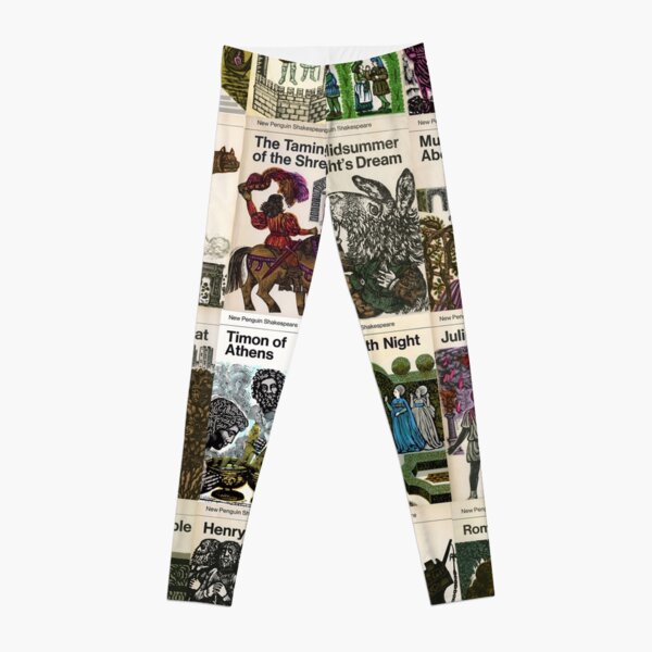 Comic Strip Book Retro Classic Print Leggings