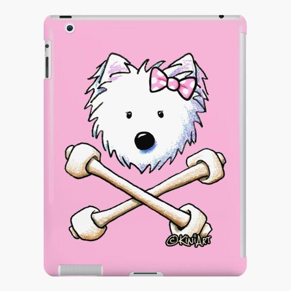 Torrid Diva Westie Crossbones iPad Snap Case