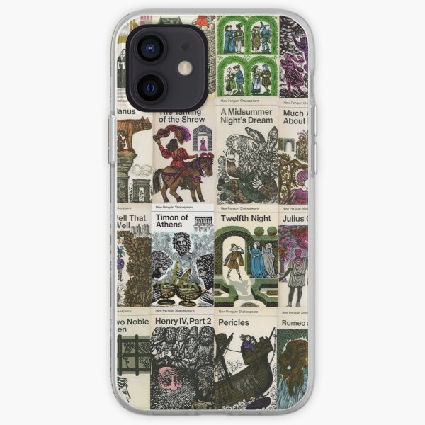 The Works Of Shakespeare iPhone Soft Case