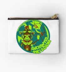 Enchanted Tiki Room (blue, green, red) Zipper Pouch