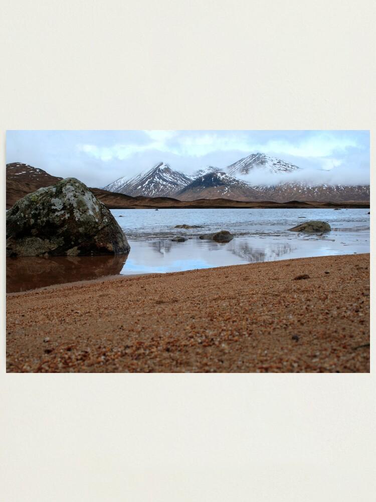 Alternate view of Blackmount  Photographic Print