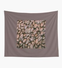 Coffee grains Wall Tapestry