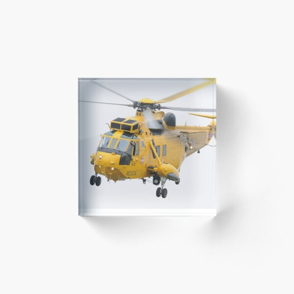 Royal Air Force Sea King Acrylic Block