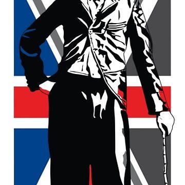 Sir Charles Chaplin by ideepspace