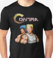 Camiseta unisex Contra Vintage Heros Pixels
