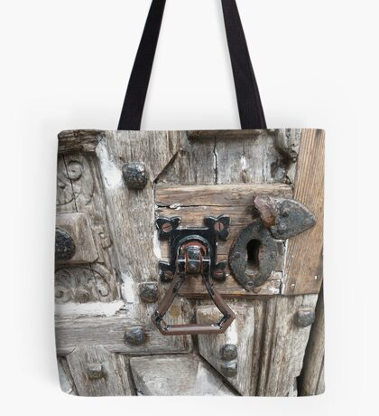 Knock, knock! Who's there? Tote Bag