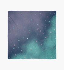 Flieder und Aqua Pixel Galaxy Tuch