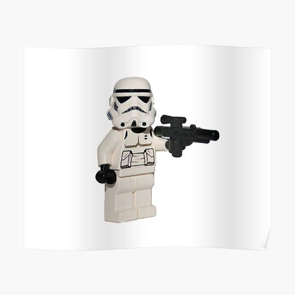 LEGO Stormtrooper Poster