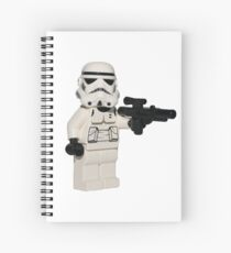 LEGO Stormtrooper Spiral Notebook
