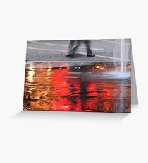 Sea of Flame Greeting Card