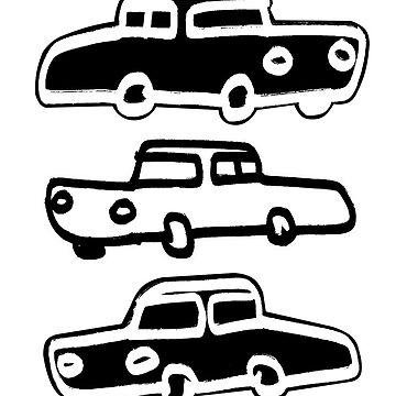 Cars B&W&B by betofaria